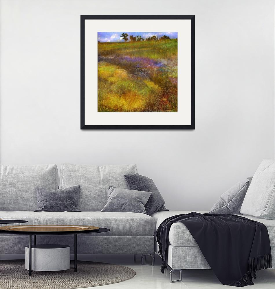 """""""buzzing summer meadow"""" (2011) by rchristophervest"""