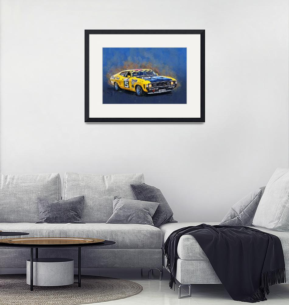 """""""McLeod Ford Group C Falcon GT""""  (2020) by StuartRow"""