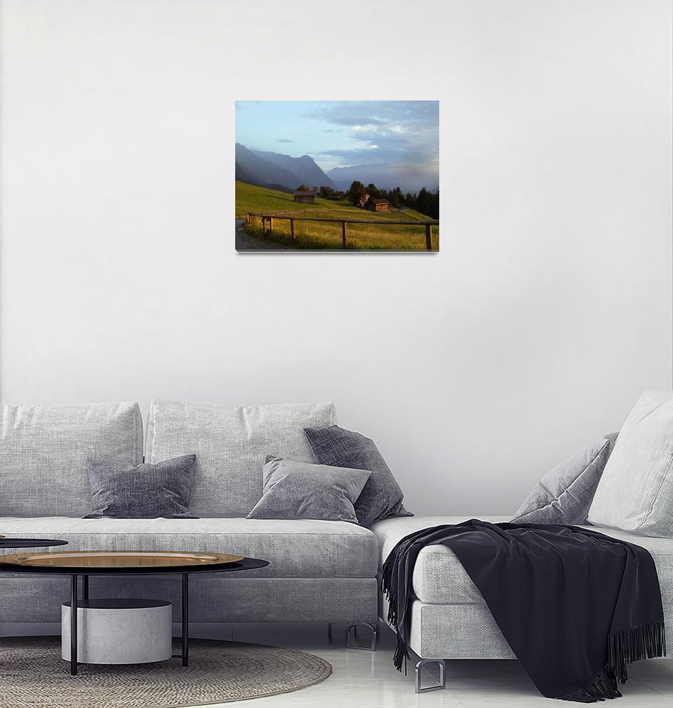 """""""in the alps of  Liechtenstein""""  (2007) by violeta"""