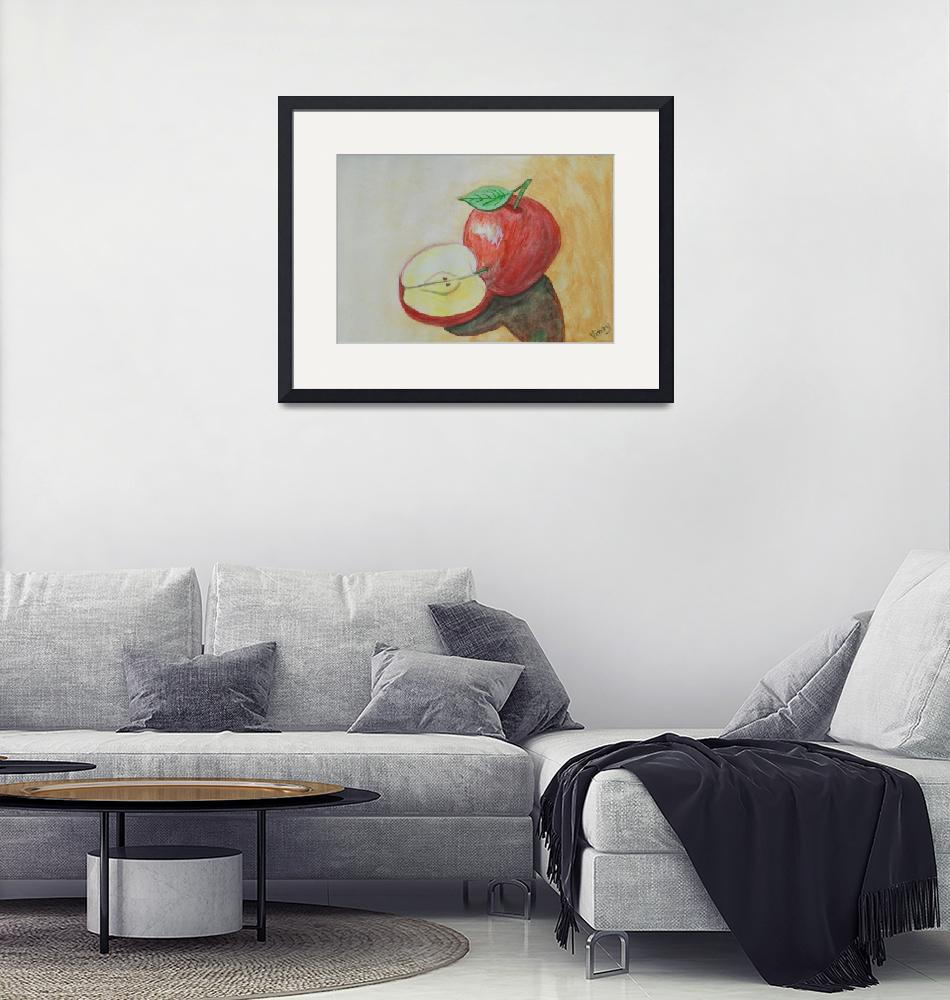 """An apple a day""  (2014) by VinayJalla"