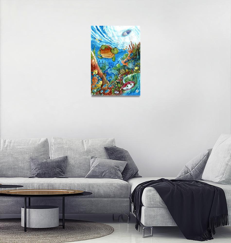 """""""Coral Dreams""""  (2007) by LuisPeres"""