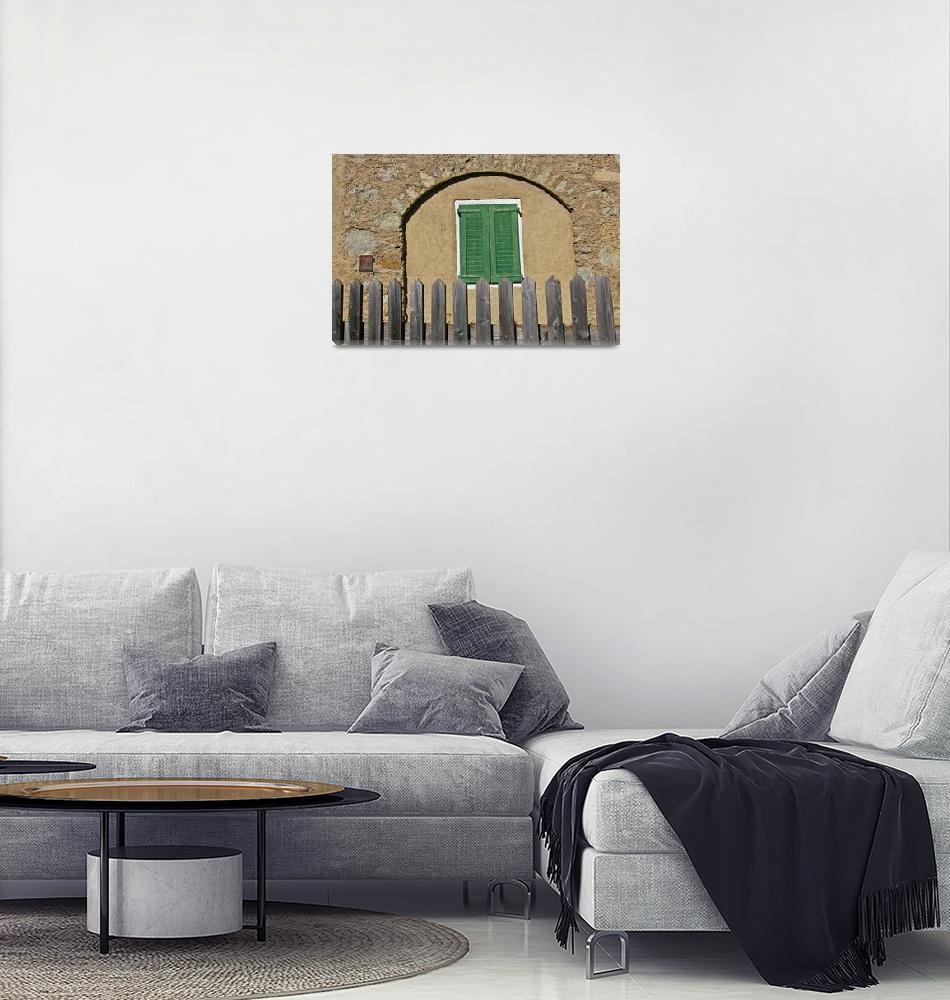"""Green Shutters Closed""  (2008) by tommyrey"