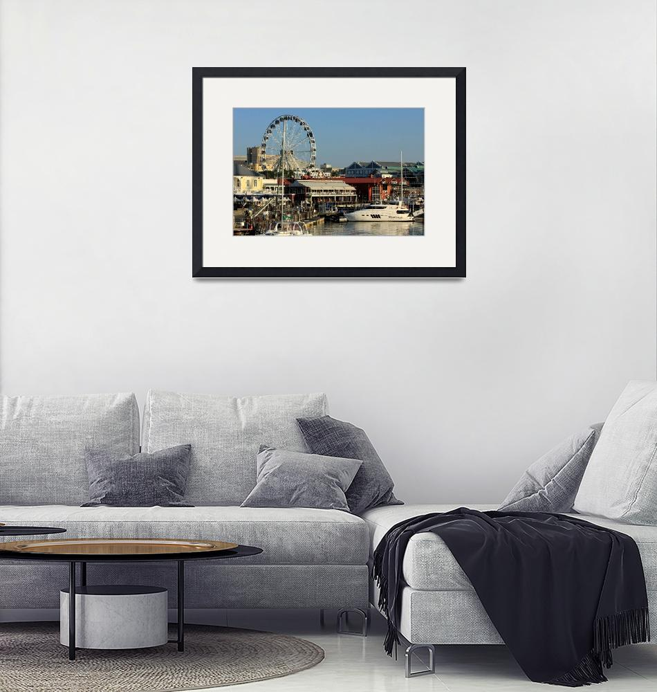 """""""Cape Town Waterfront  7708""""  (2013) by rayjacque"""