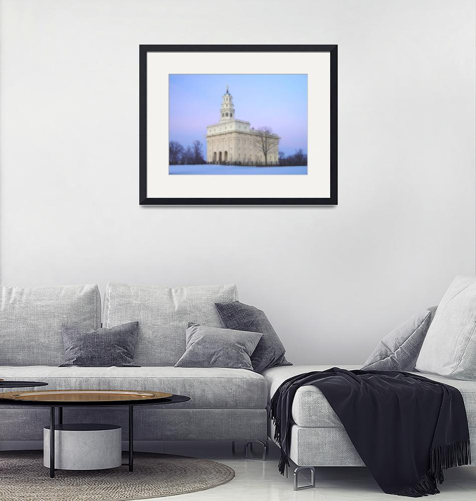 """Nauvoo Temple / Winter""  by TerrySpringer"