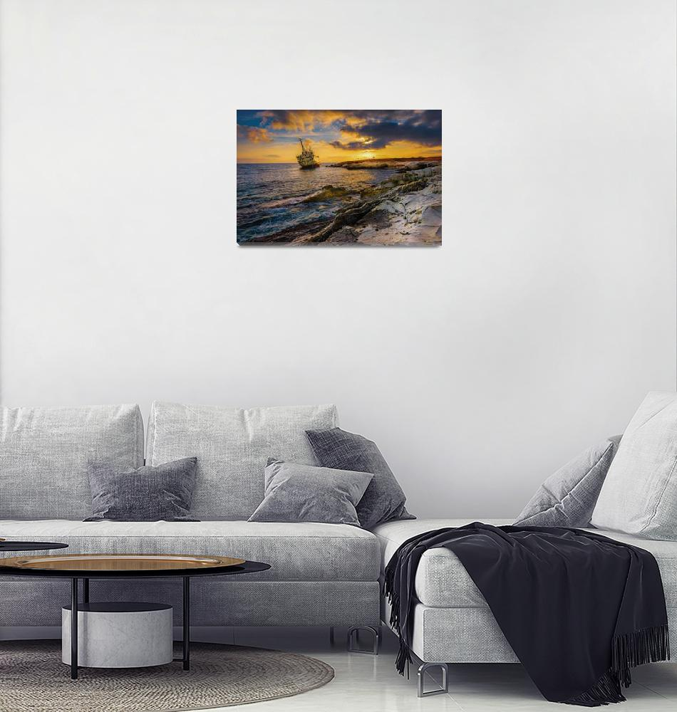 """EDRO III The Sunken Ship""  (2015) by ElenaParaskeva"