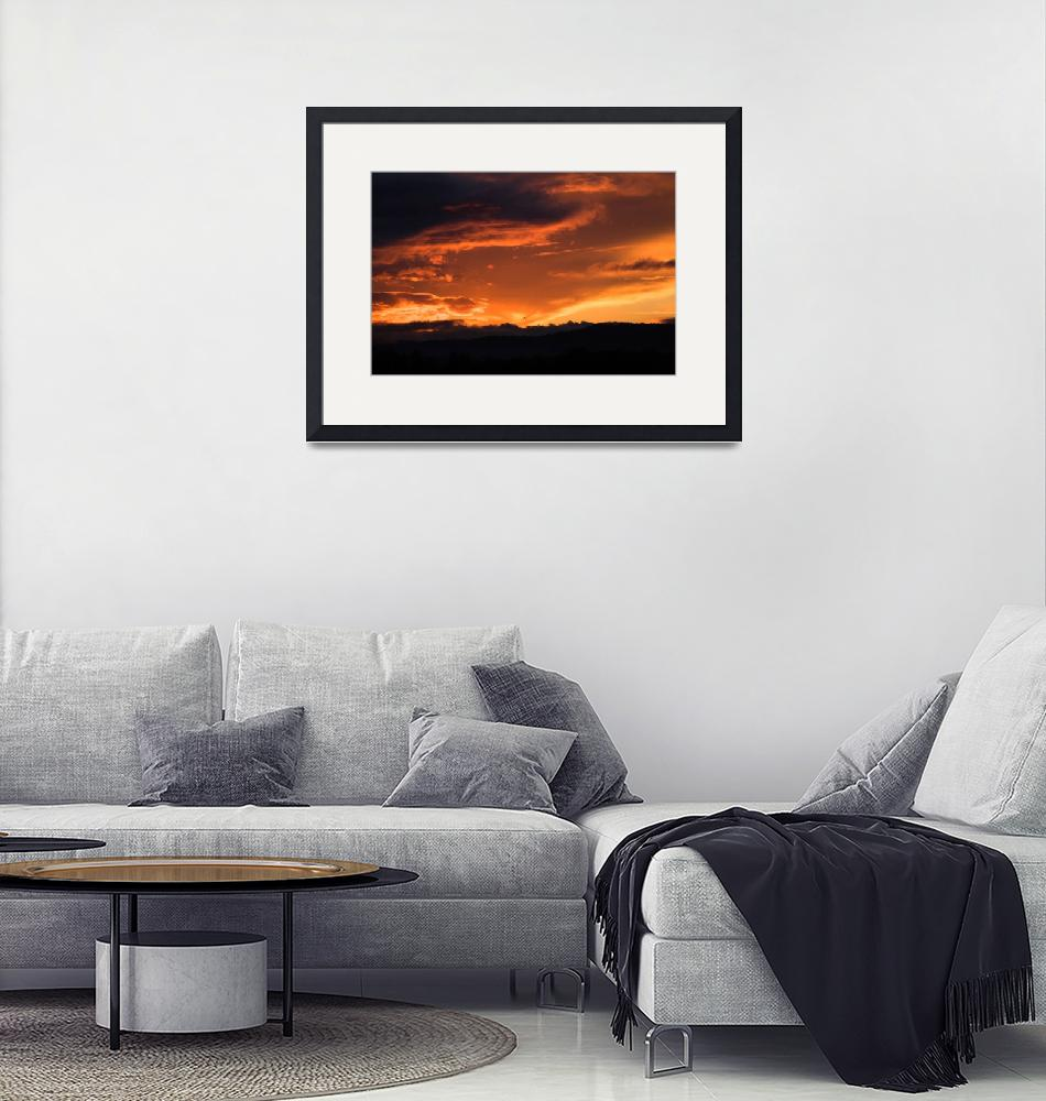"""""""Western Sunset""""  (2012) by IanMiddletonphotography"""