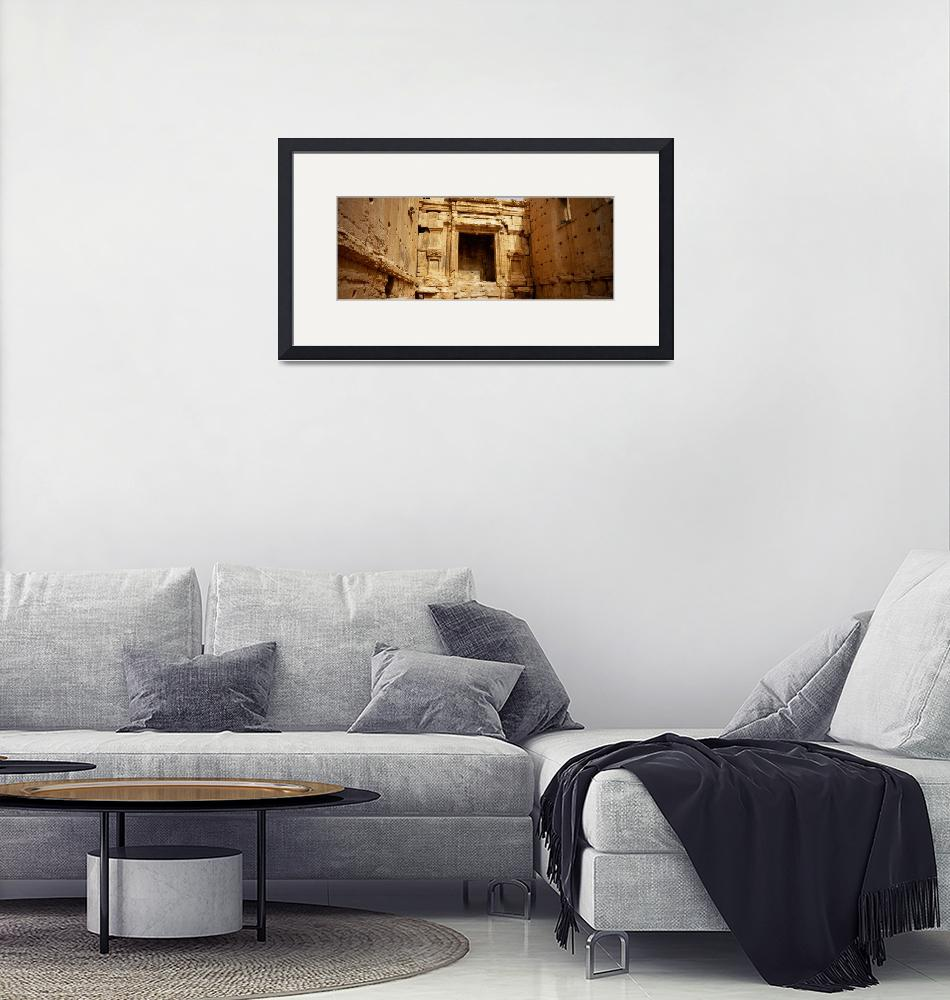 """""""Interiors of Cella the hollies part of a temple""""  by Panoramic_Images"""