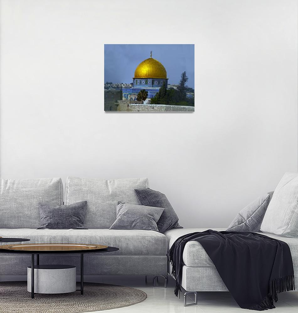 """Dome of the Rock, 2""  (2011) by janesprints"