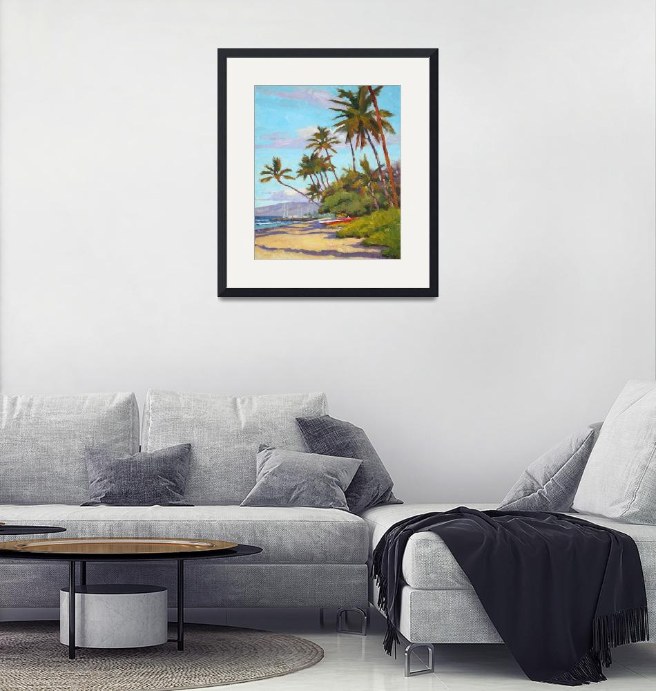 """""""Lahaina Morning""""  (2013) by davidwesterfield"""