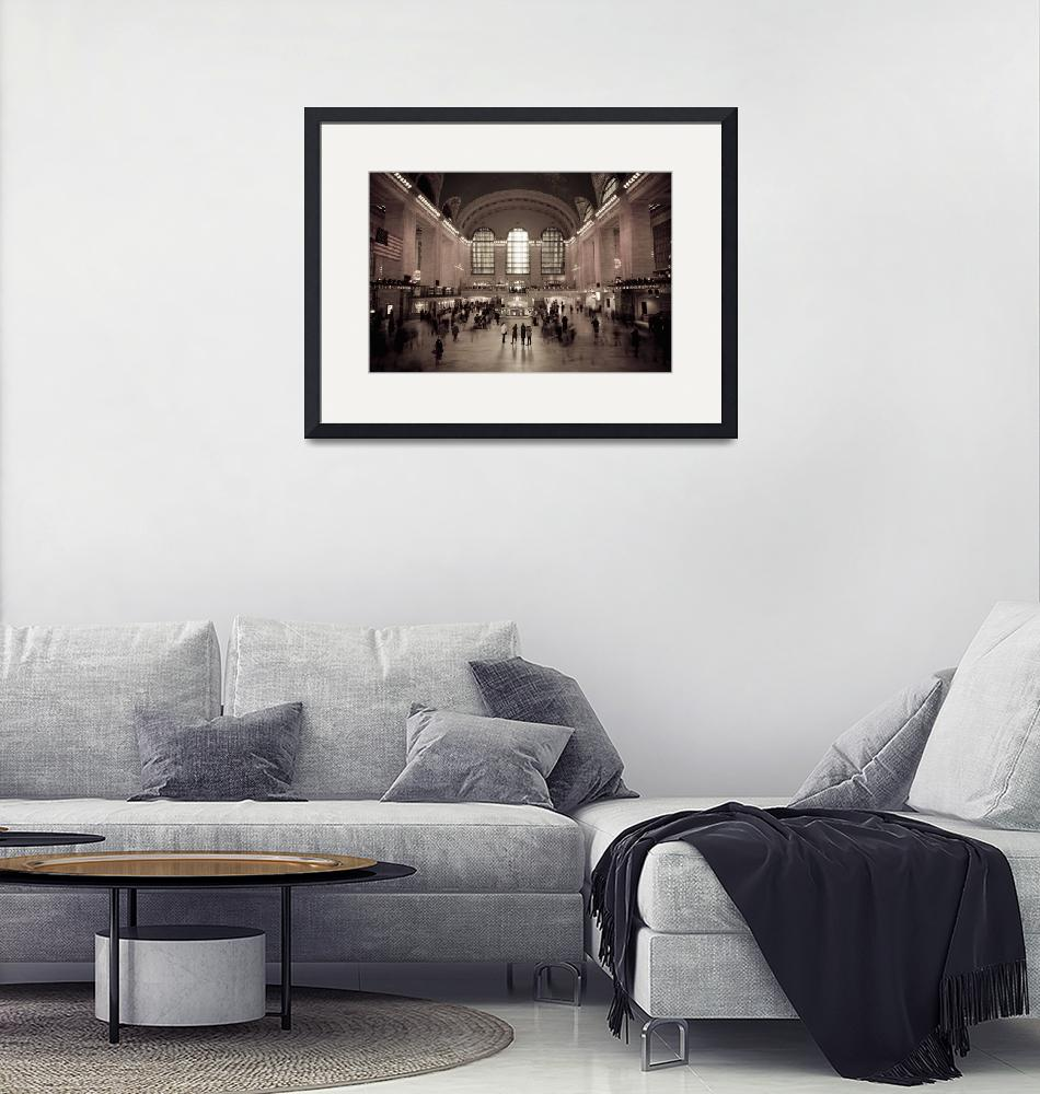 """""""Grand Central Station New York City""""  (2007) by AlanCopson"""