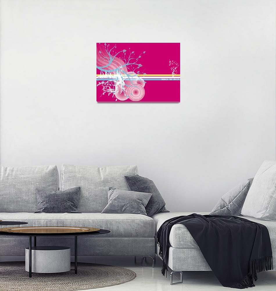 """""""Pink Escape""""  (2009) by ssgraphics"""