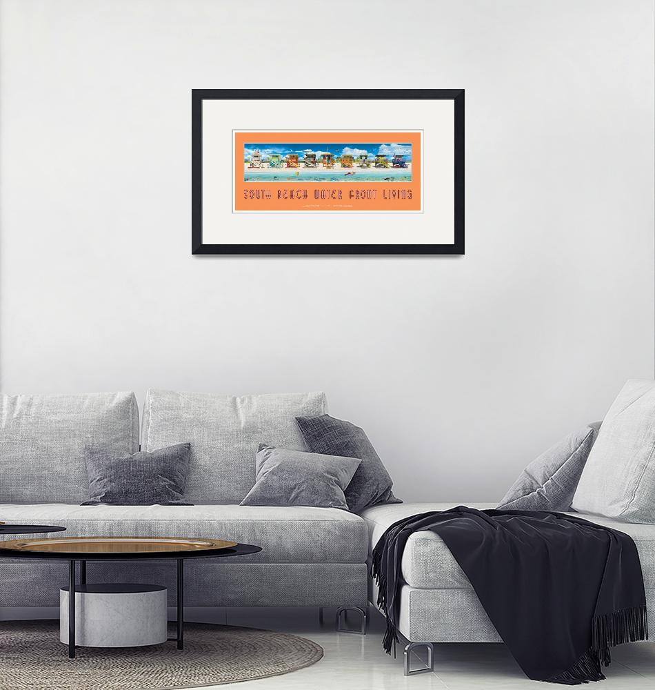 """""""South Beach Water Front Living""""  (2012) by JerryPrice"""