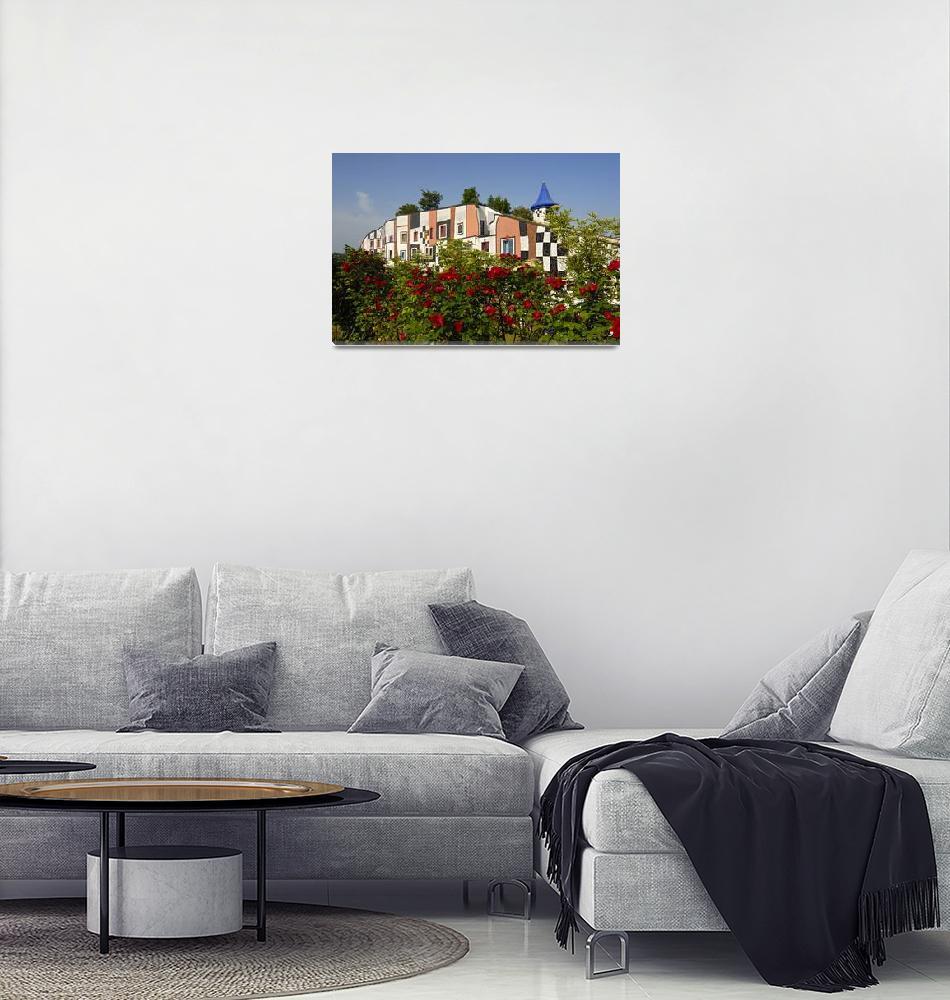 """Kunsthaus (Art House), Bad Blumau Spa (Austria)""  by petrsvarc"