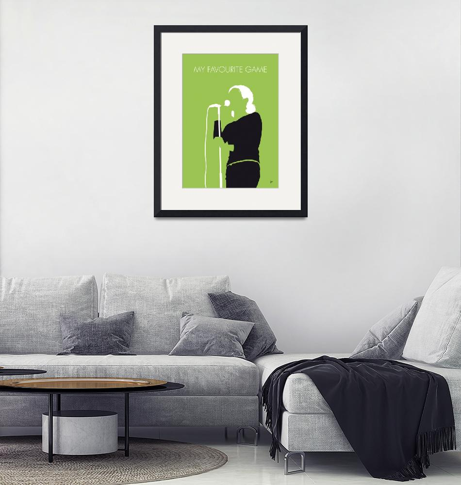 """""""No256 MY The Cardigans Minimal Music poster"""" by Chungkong"""