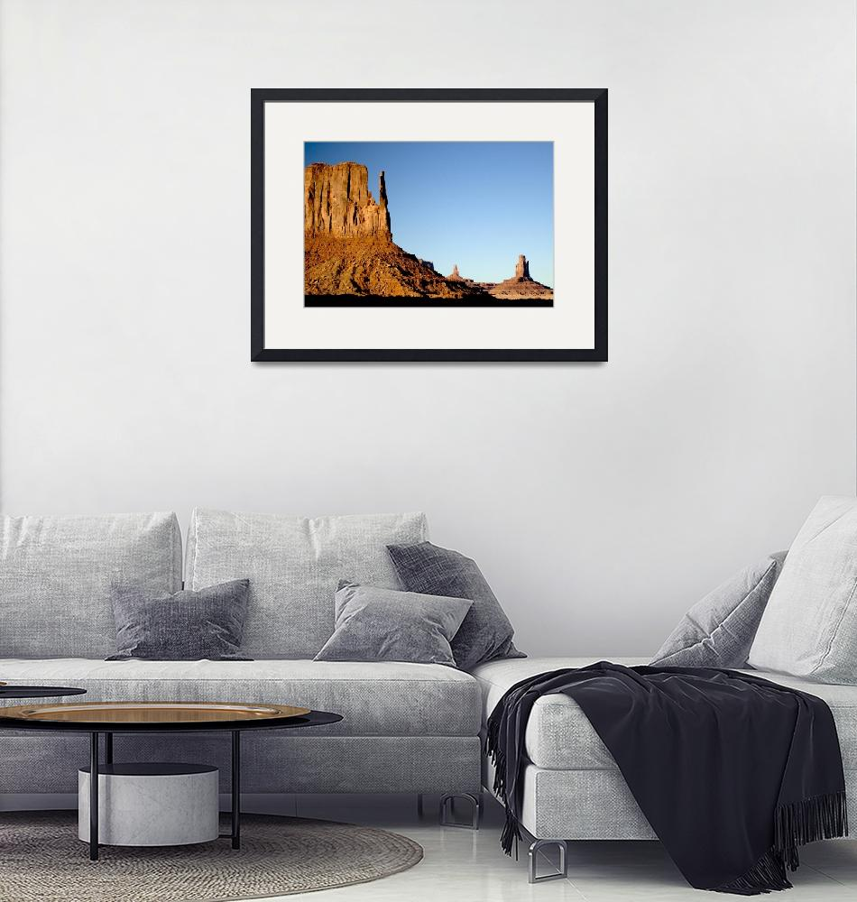"""""""Monument Valley""""  by leofleck"""