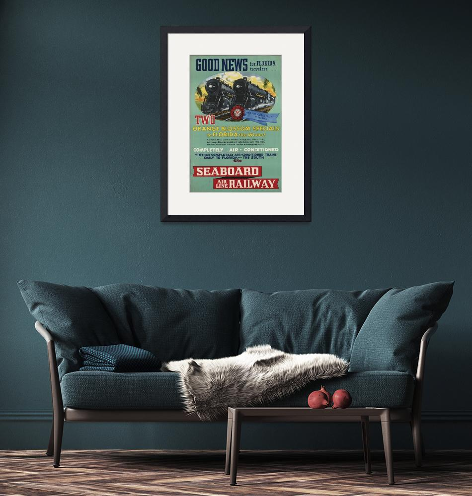 """Vintage poster - Florida""  by mosfunky"