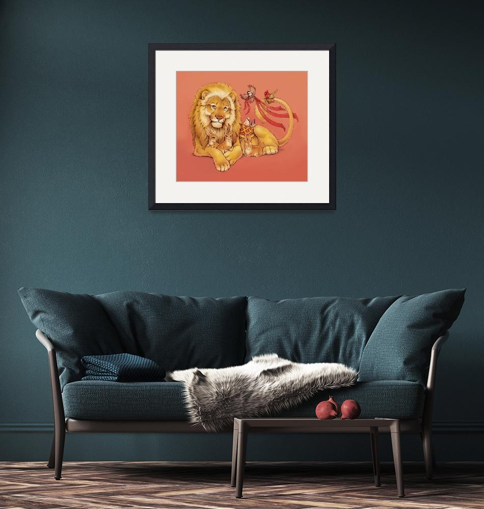"""""""Gentle Lion and Friends""""  (2007) by smbittler"""