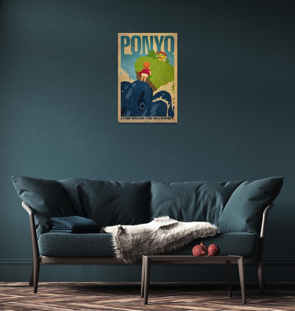 """""""Ponyo""""  (2011) by curtsywithanger"""