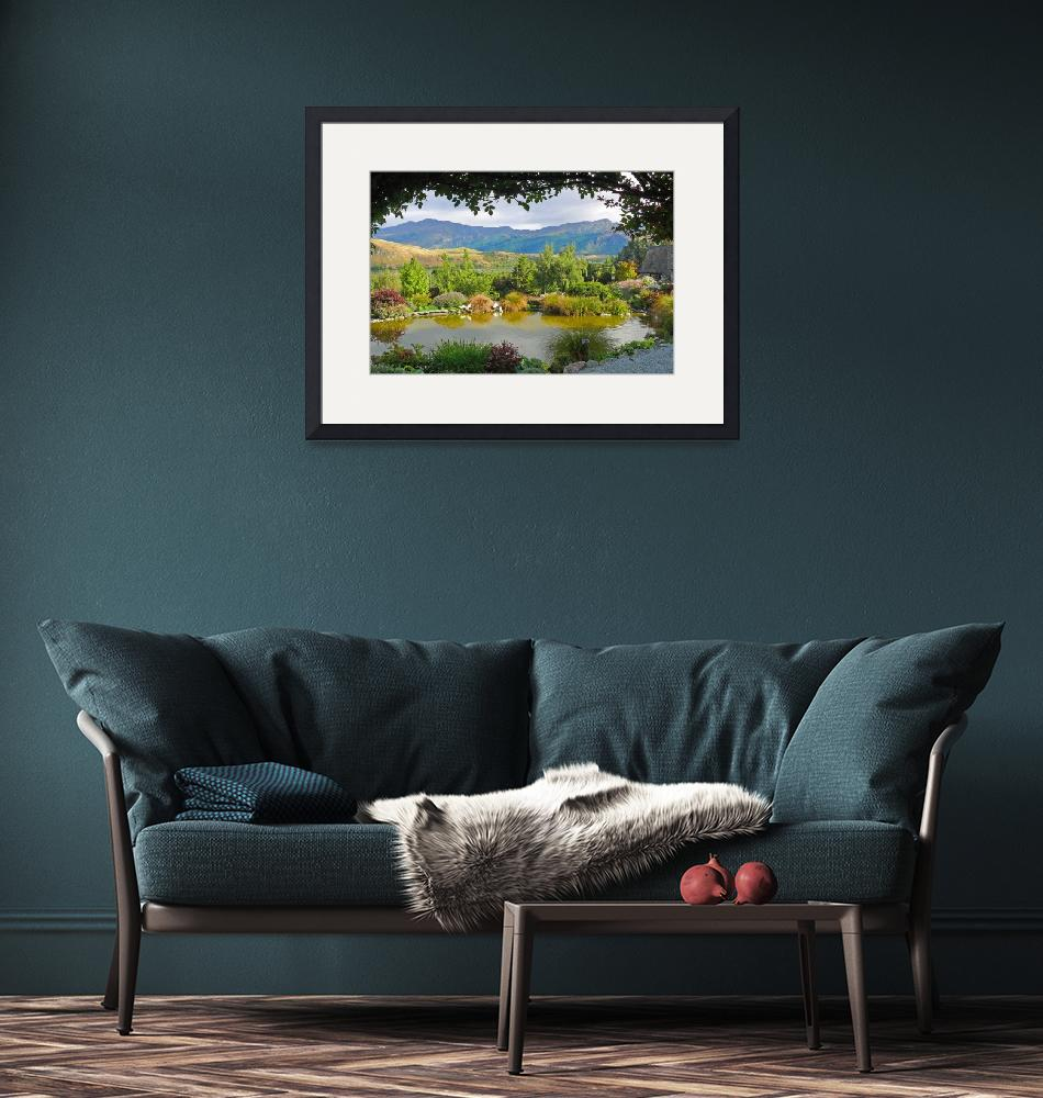 """""""Mountain View, Queenstown, NZ""""  (2008) by stockphotos"""