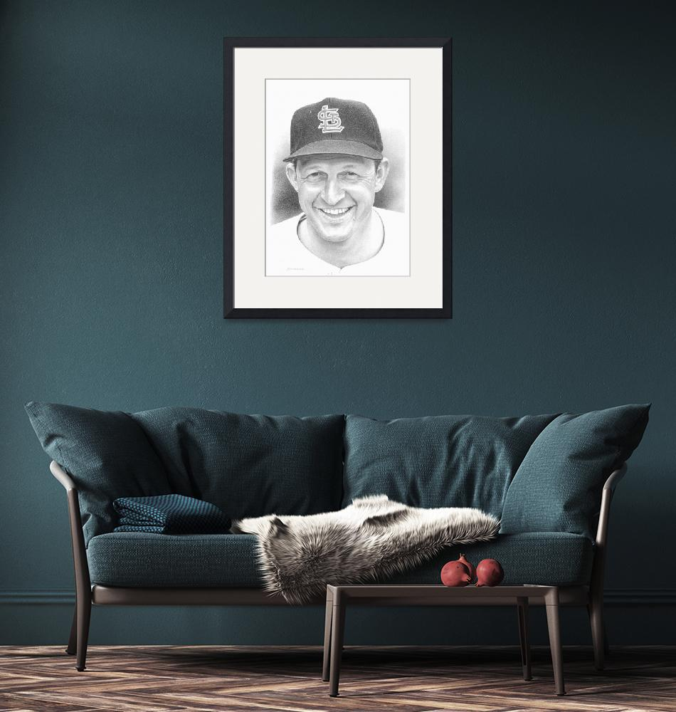 """Stan Musial""  (2010) by JHancock"
