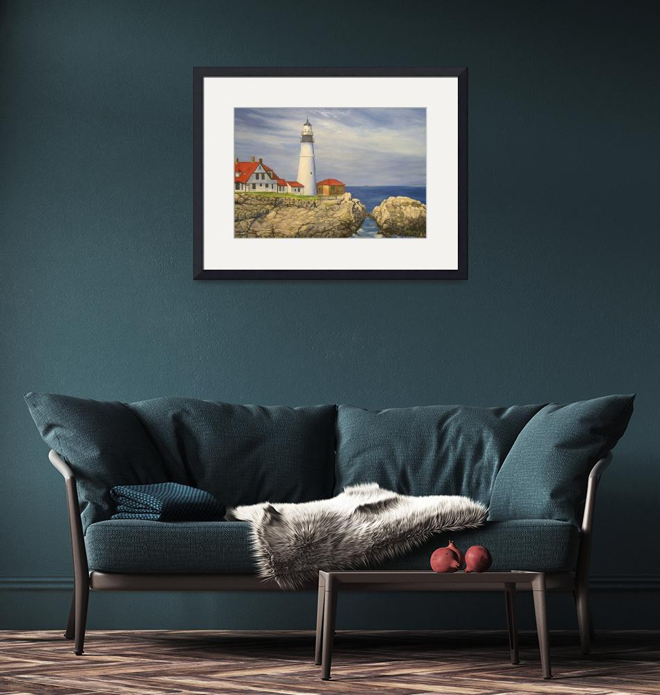 """Portland Head Lighthouse""  by russellmoore"