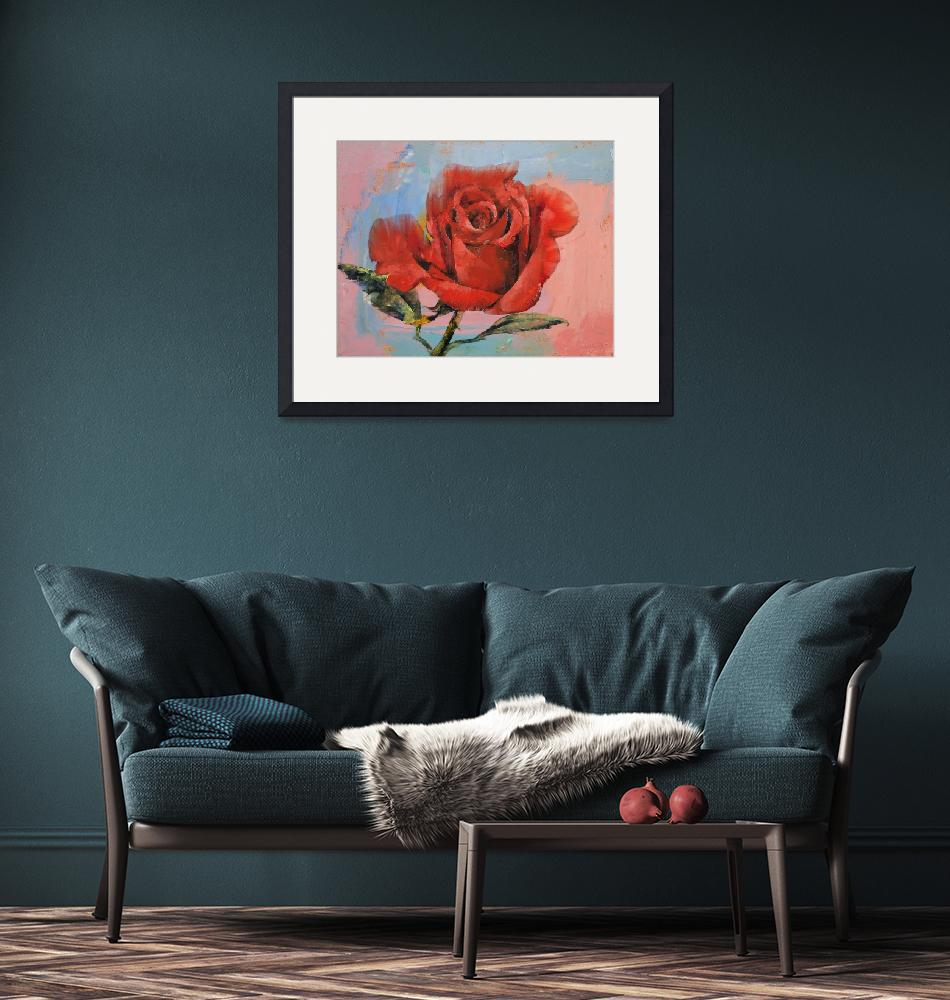 """Rose Painting""  by creese"