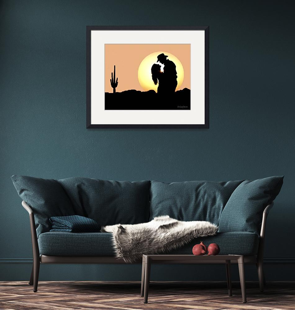 """""""Sunset Kiss""""  (2019) by davegafford"""