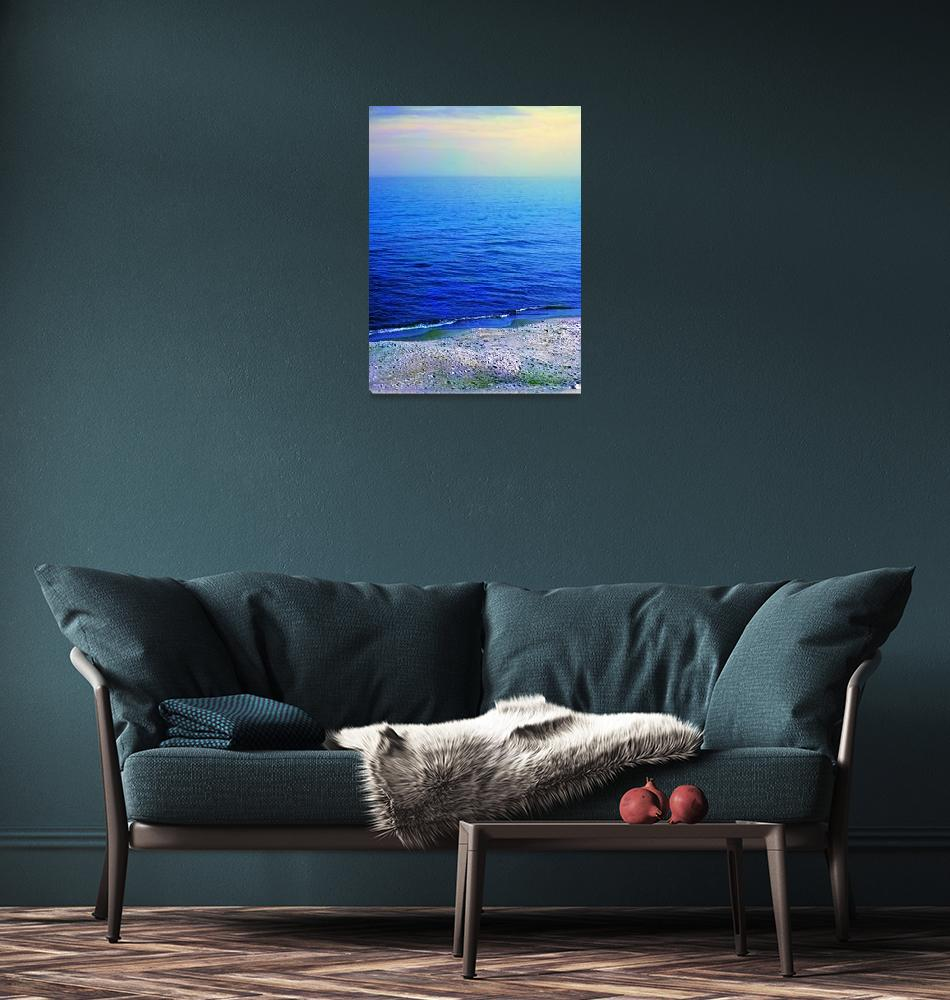 """""""Coast of Baltic sea""""  by Parushin"""