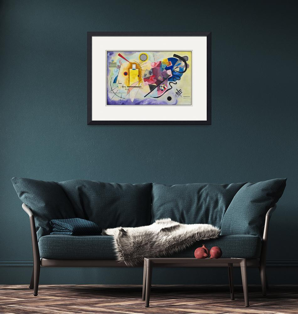 """Vasily Kandinsky Art Framed Print""  by buddakats1"