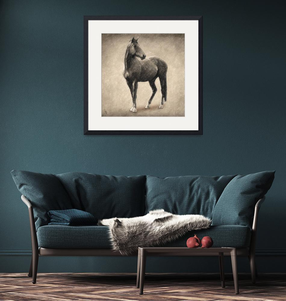 """""""Le Cheval""""  (2018) by taylansoyturk"""