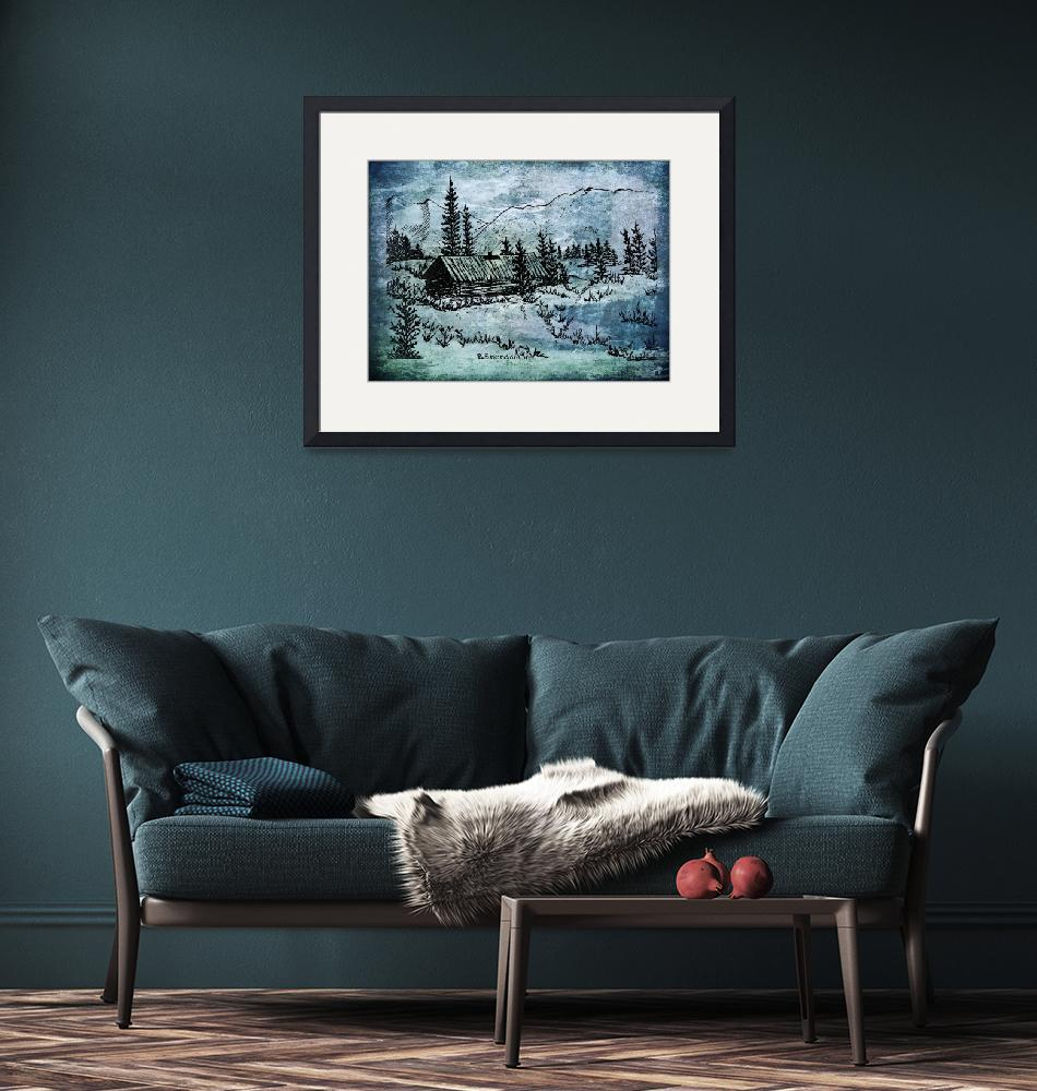 """""""Home beneath the wintry sky""""  (2015) by BSherdahl"""
