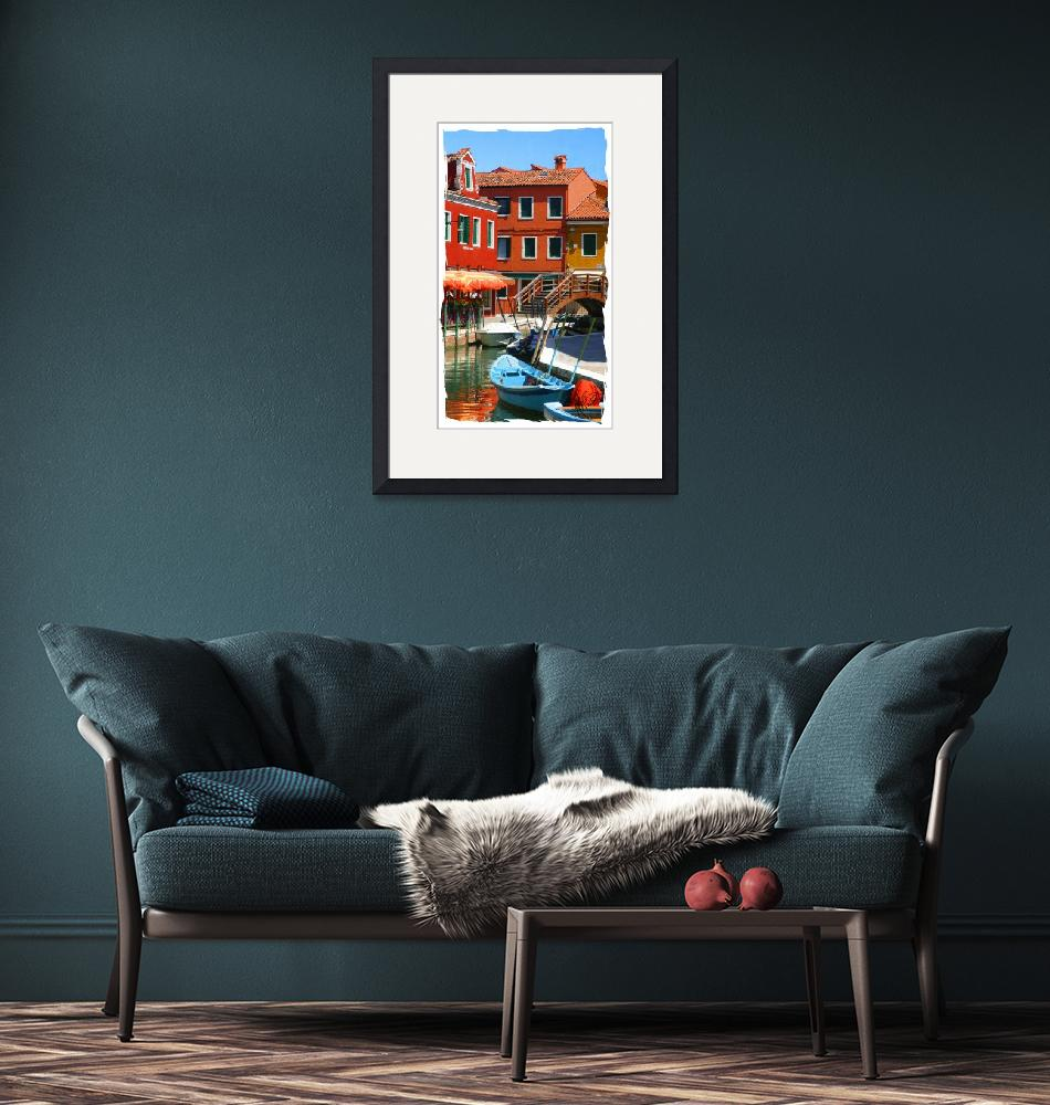 """""""Brave and Bold in Burano""""  by marywhitmer"""