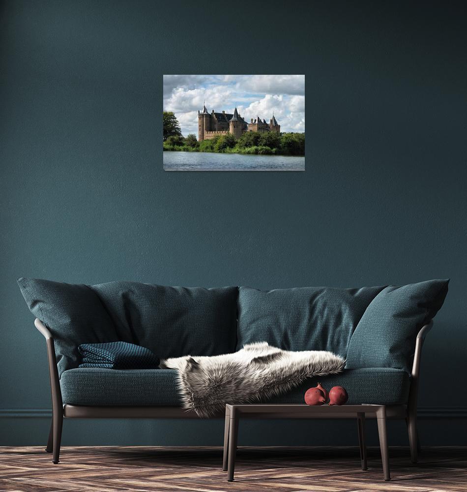 """Medieval castle in Holland""  (2008) by edmondholland"