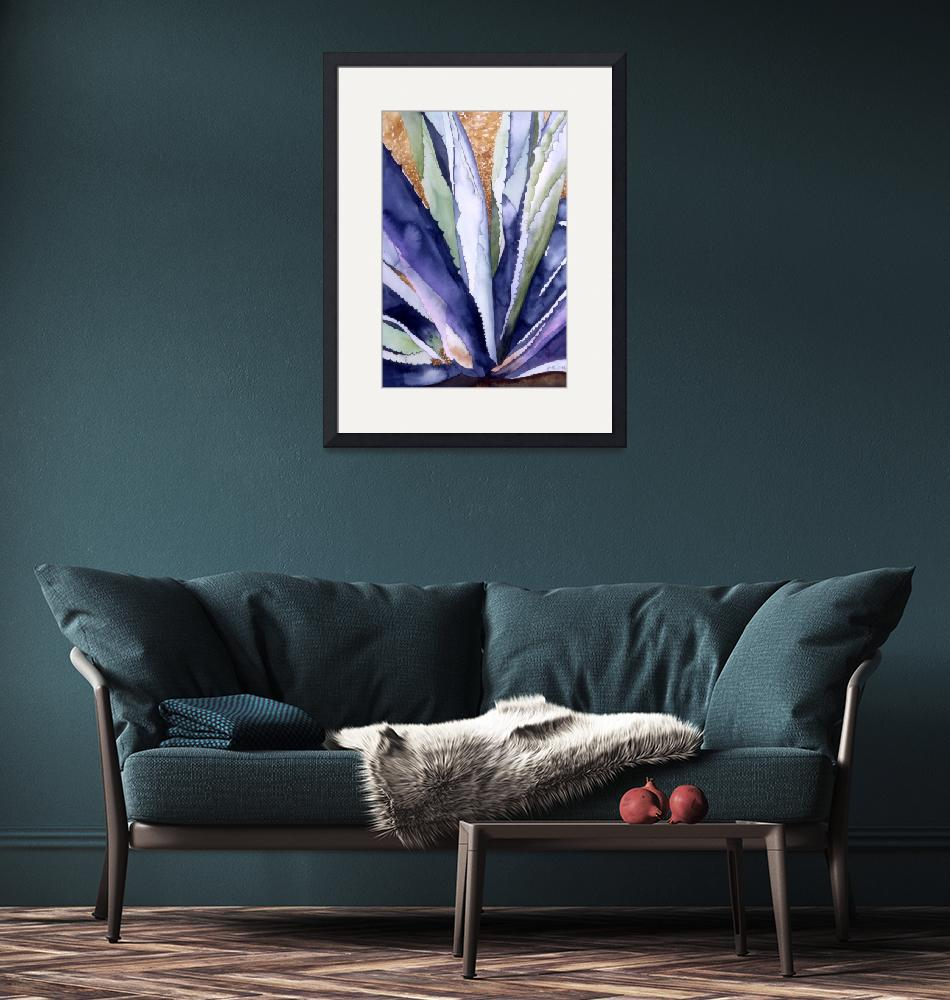 """Agave 3"" (2008) by art4fish"