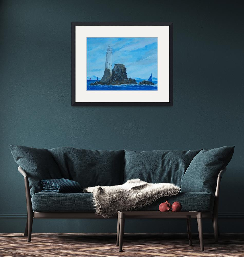 """""""Fastnet Rock Lighthouse""""  (2010) by conor"""