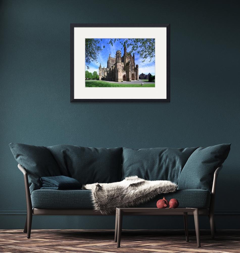 """Hereford Cathedral""  (2011) by 3DPhil"