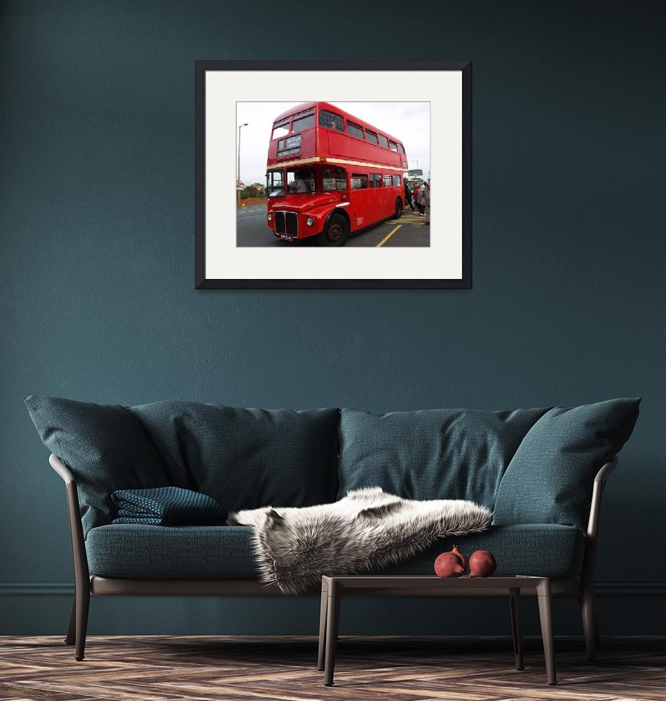 """""""Routemaster RM1568 London Bus""""  (2008) by imagetaker"""