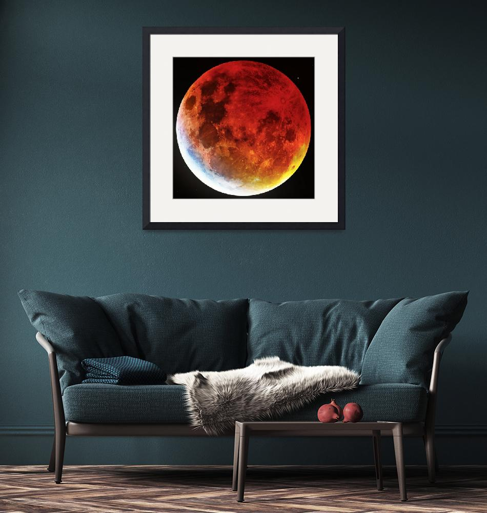 """""""Blood Moon 2019"""" by cosmic_background"""