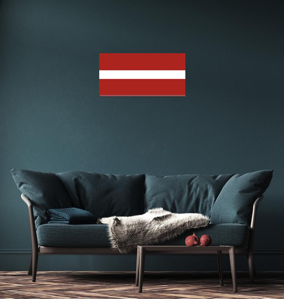 """tobias_Flag_of_Latvia""  by ArgosDesigns"