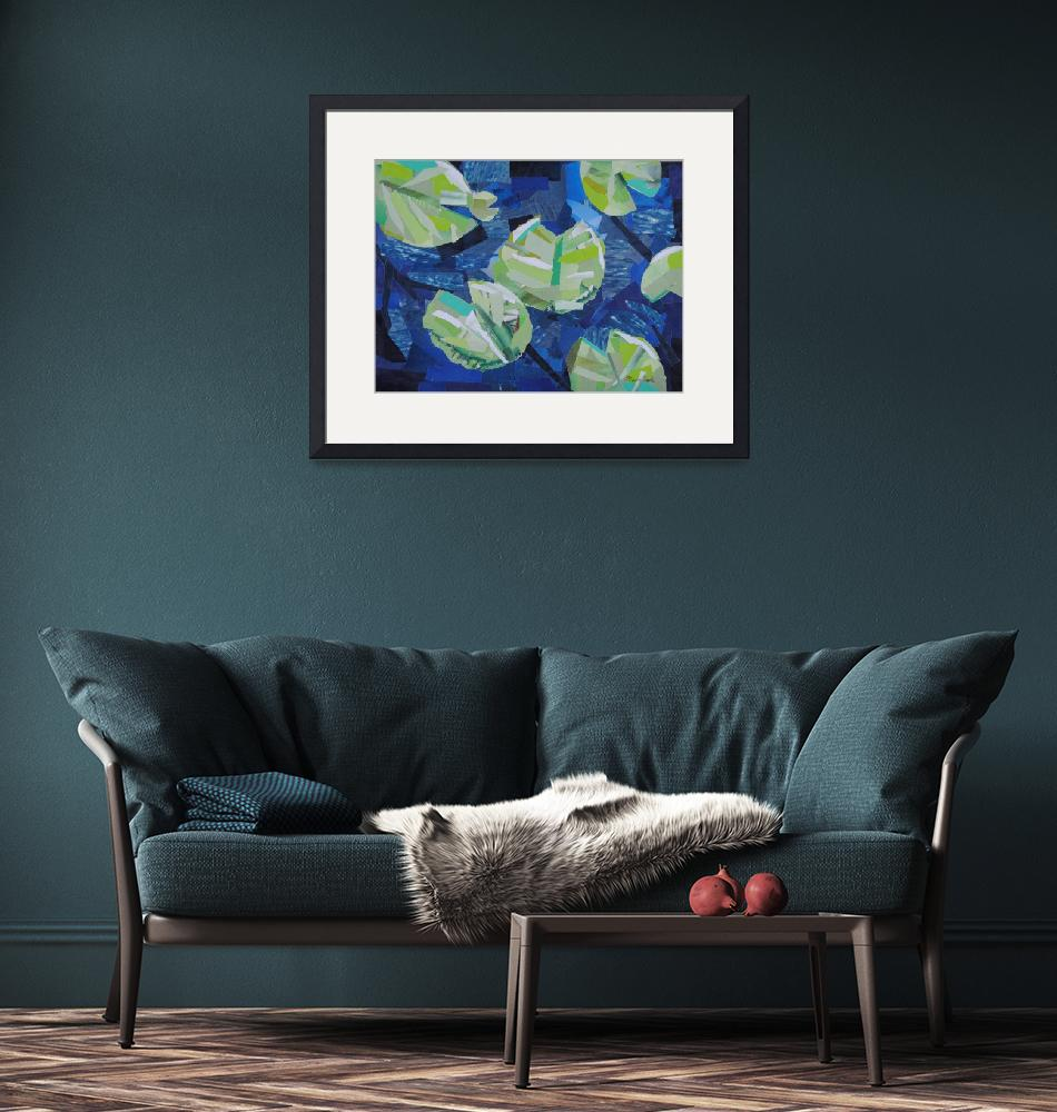 """""""Water Lilies""""  (2008) by megancoyle"""