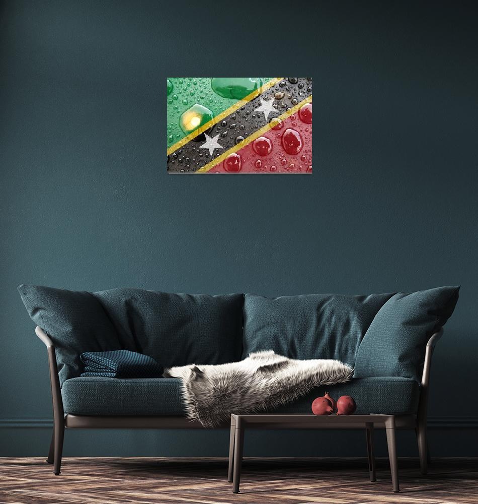 """Saint Kitts and Nevis""  (2014) by thegriffinpassant"
