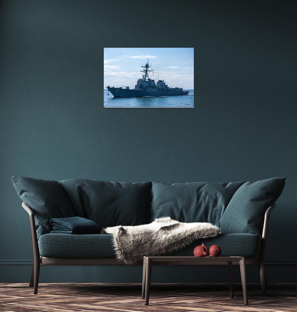 """USS Winston S. Churchill (DDG 81)""  (2009) by goatlockerguns"