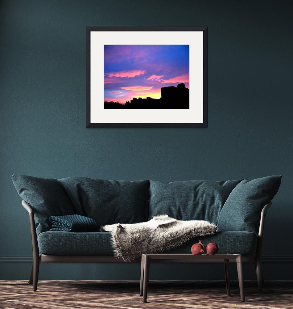"""""""Silhouette Sky""""  (2008) by markdowdell"""