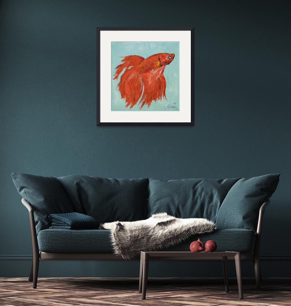"""""""Siamese Fighting Fish""""  by creese"""