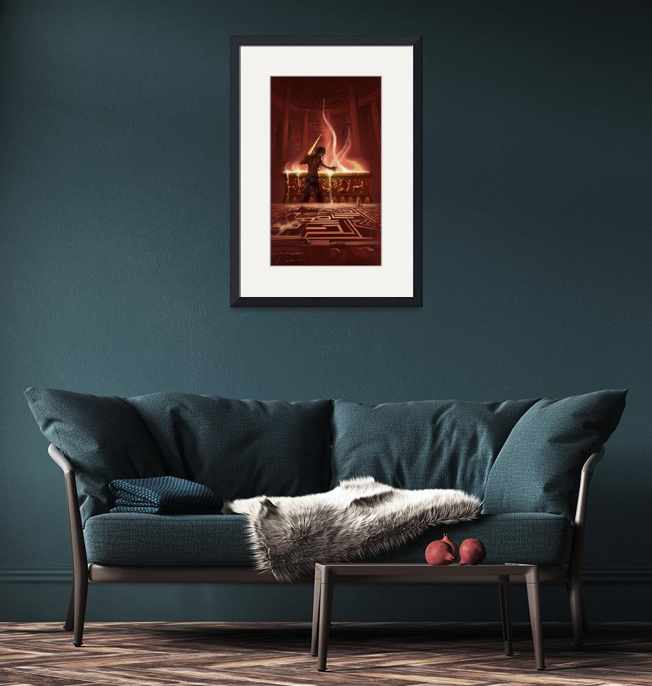"""""""The Battle of the Labyrinth - Percy Jackson Book C""""  by roccoart"""