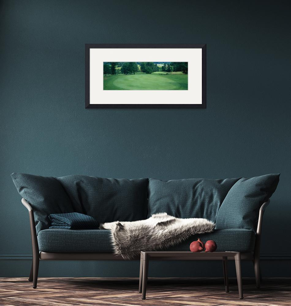 """""""Golf Course Broome County NY""""  by Panoramic_Images"""