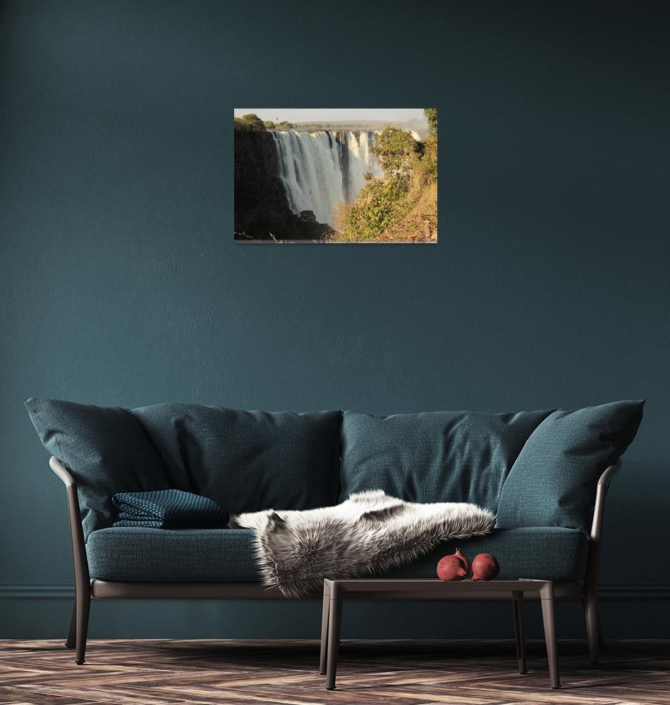 """""""Victoria Falls  6102""""  (2013) by rayjacque"""