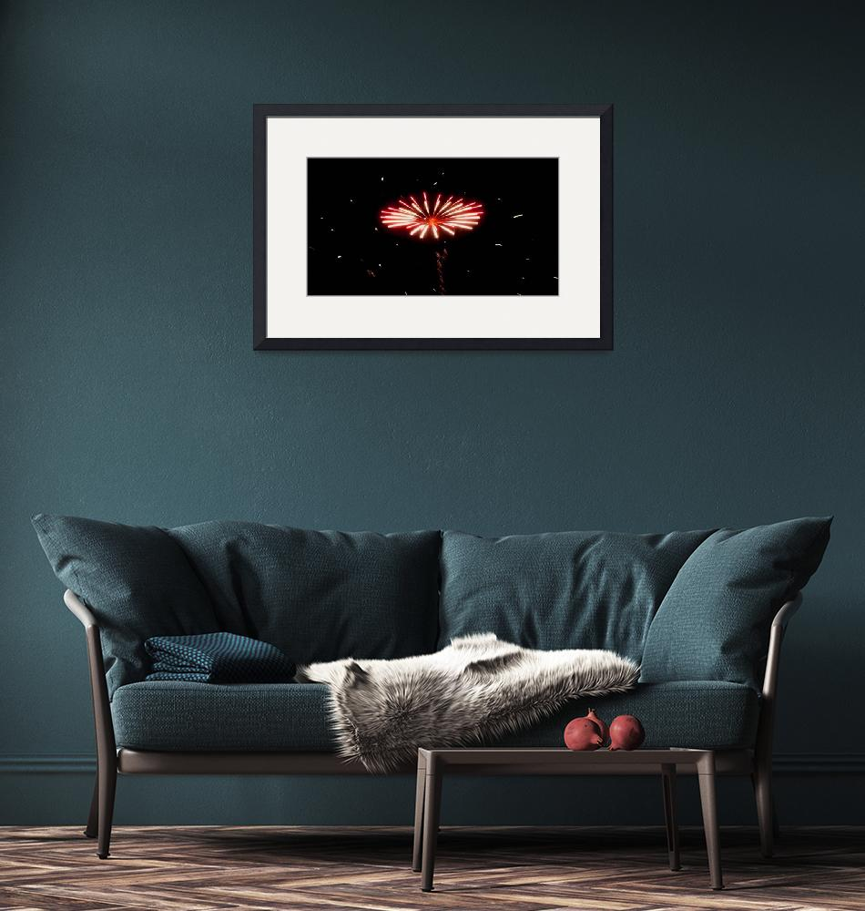 """""""Fireworks #12  """"Flying Saucer""""""""  (2008) by rayjacque"""
