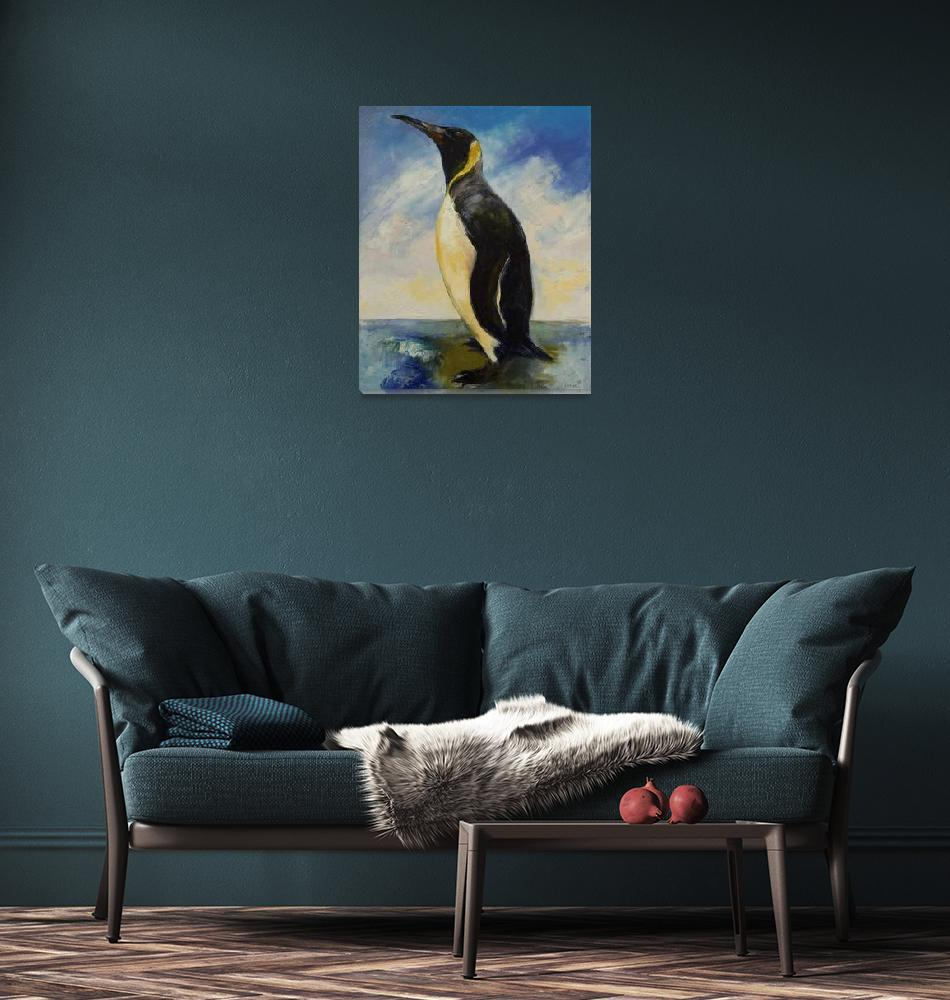 """King Penguin""  by creese"