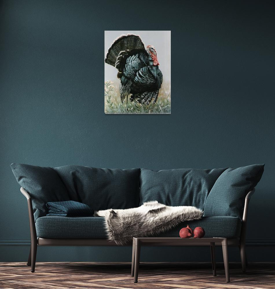 """Tom Turkey painting""  by AnimalsbyDiDi"